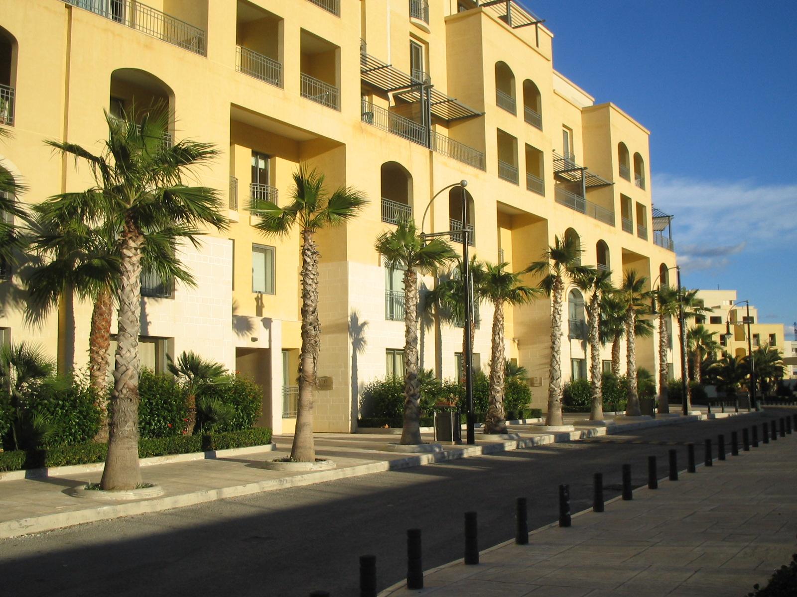 Portomaso Surrounding streets (3) | Modern Apartment ...